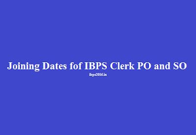 Tentative Joining Dates