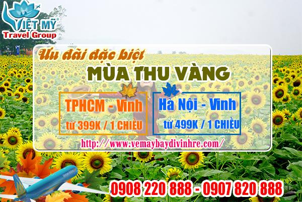 Khuyến mãi mùa thu vàng đi Vinh chỉ từ 599,000 đồng