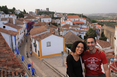 The beautiful medieval village of Óbidos in Portugal