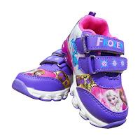 Alfacart Sepatu Anak Perempuan Lampu Wonderland Frozen ANDHIMIND