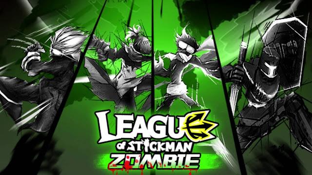 تحميل لعبة League of Stickman Zombie v1.1.1 مهكرة للاندرويد (اخر اصدار)