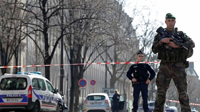 Parcel explosion at IMF's Paris office wounds employee