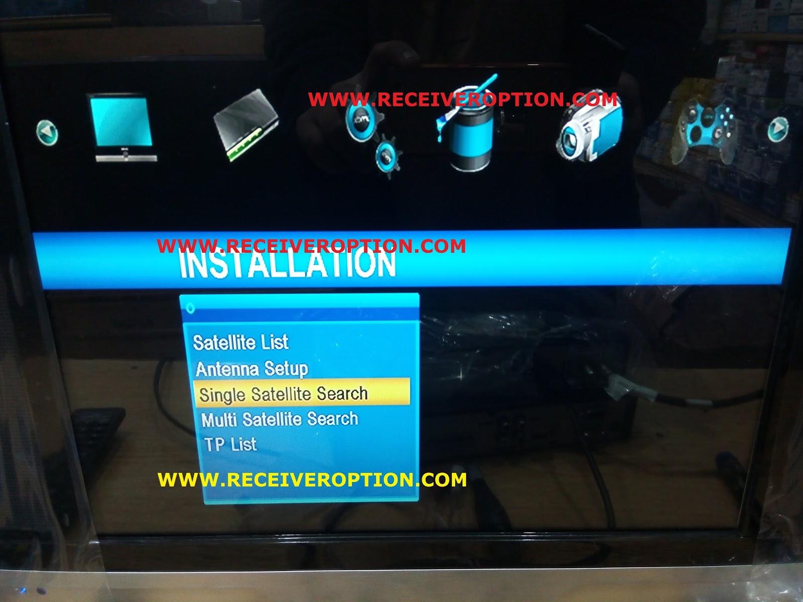 STAR TRACK i-3000 HD RECEIVER AUTO ROLL POWERVU KEY NEW