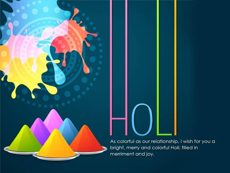 Happy Holi Belated Wishes Quotes