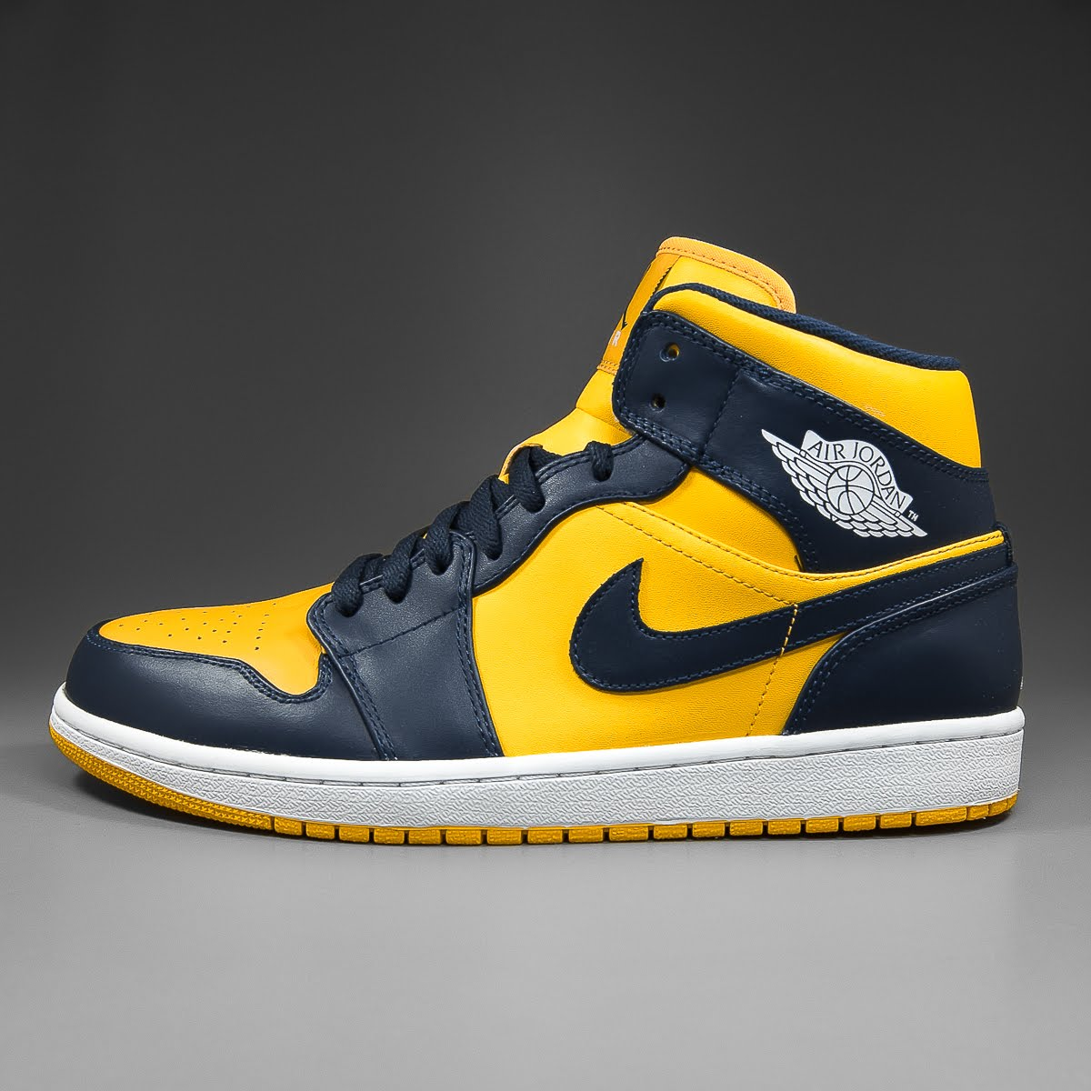 info for 46cf4 d28b7 Air Jordan 1 Mid - College Pack Michigan - varsity maize navy-white