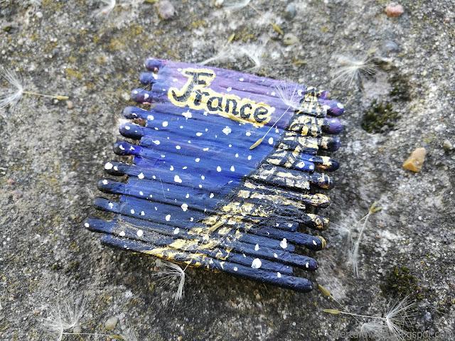 magnes Francja z wieżą Eiffla