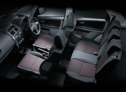 interior sx4 suzuki x over