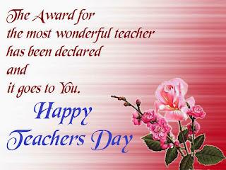 Teachers Day Advance Text Messages 2016