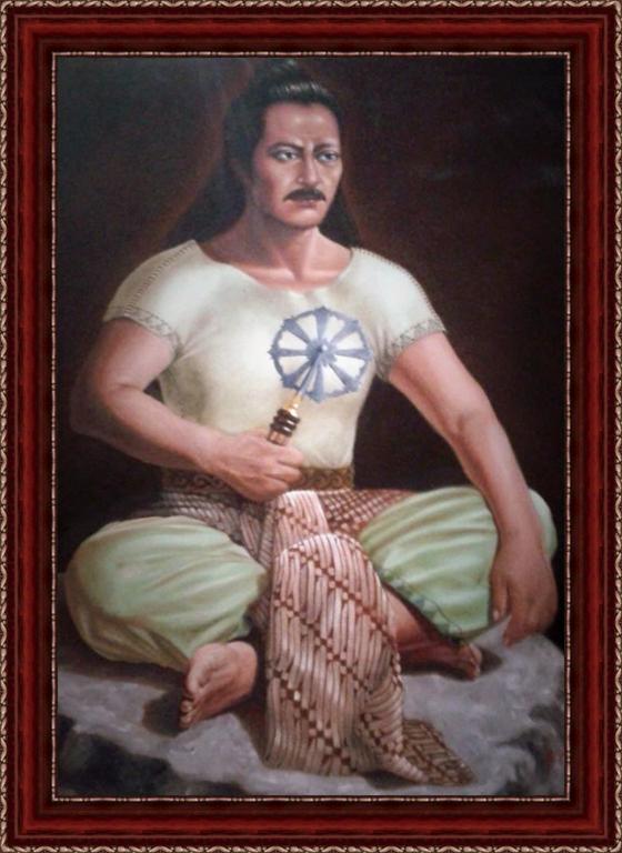 Lukisan Raden Bagus Aria Wiralodra Indramayu