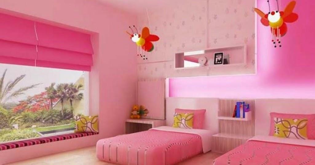 Inspirasi Desain Kamar Tidur Anak Kembar Perempuan