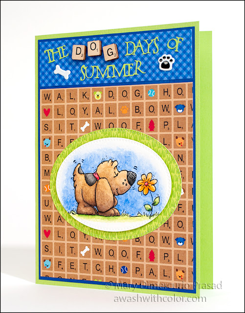 Xyron Whipper Snapper Designs Doodlebug Design Puppy Love Card