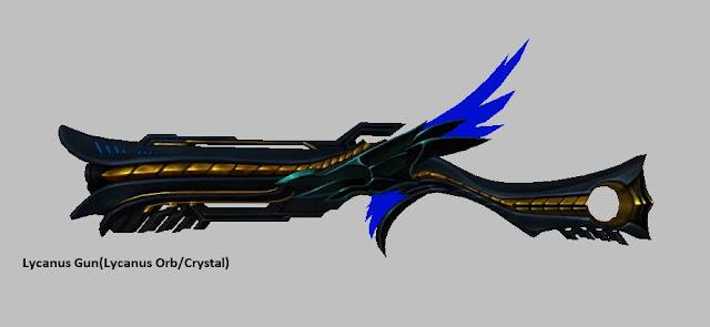 Lycanus Gun [Lycanus Orb] Force Gunner