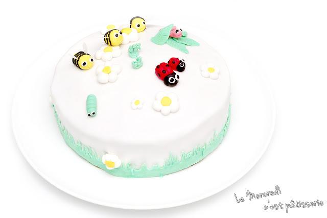 Gâteau Petites Bêtes