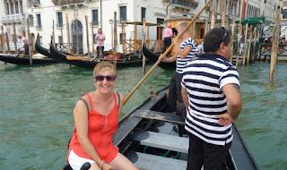 Venecia, traghetto.