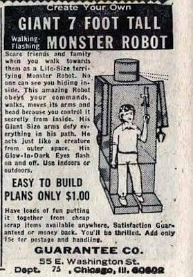 Create Your Own 7 Foot Tall Walking - Flashing Monster Robot