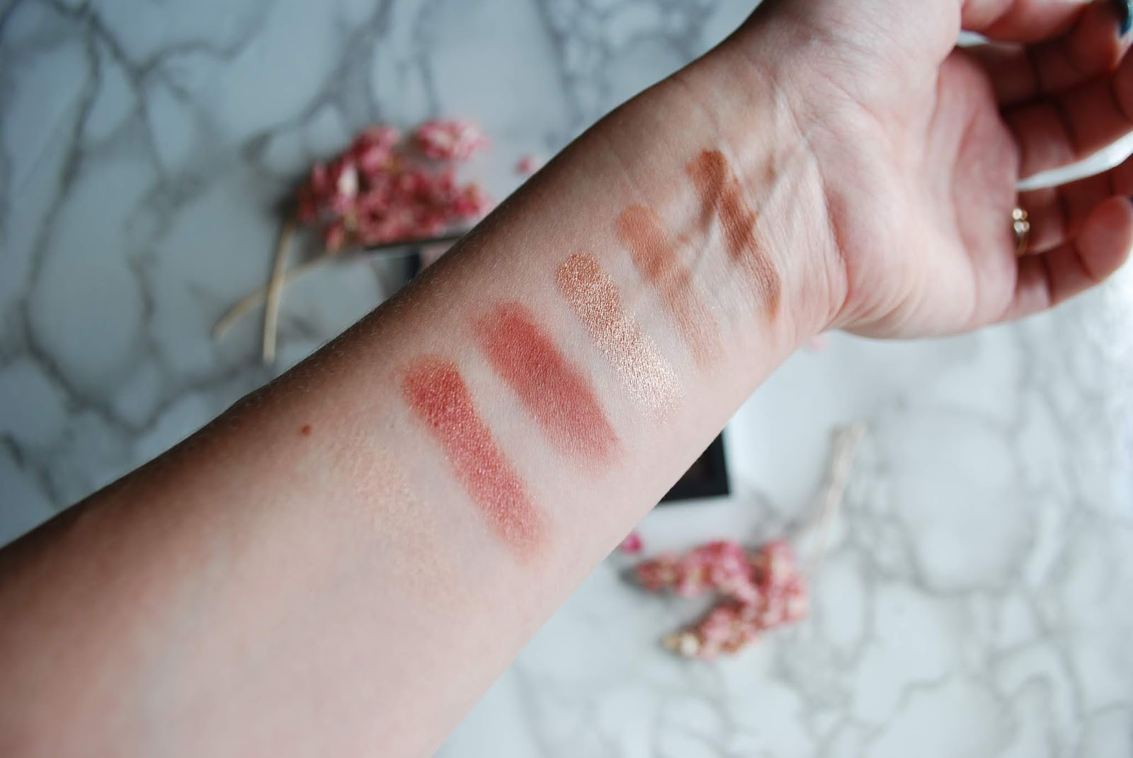 worth the price? nars wanted eyeshadow palette swatches