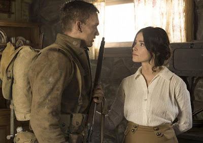 Abigail Spencer and Cameron Neckers in Timeless Season 2