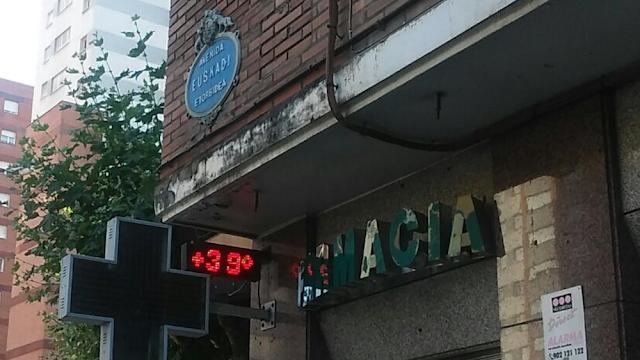 termómetro en Barakaldo