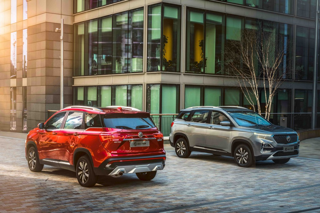 MG Hector Promises to be More Than Just a Car; Indias first Internet Car 48V hybrid SUV