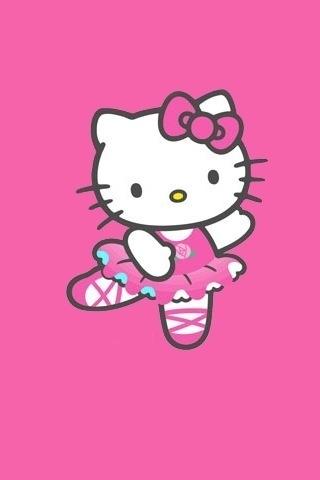 Memet Ngepet Hello Kitty Mobile Wallpaper