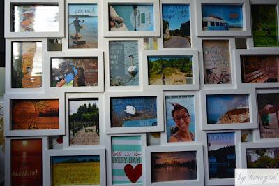 DIY Foto Adventskalender Fotocollagenrahmen mit persönlichen Erinnerungen