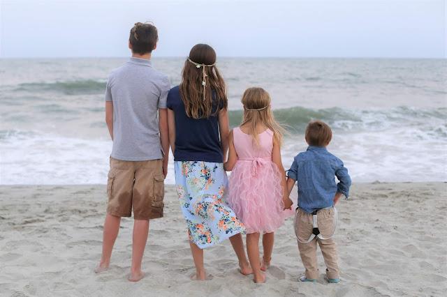 Siblings Beach Photography