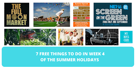 7 FREE Things to Do in Week Four of the Summer Holidays