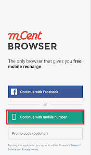 mcent Sign Up