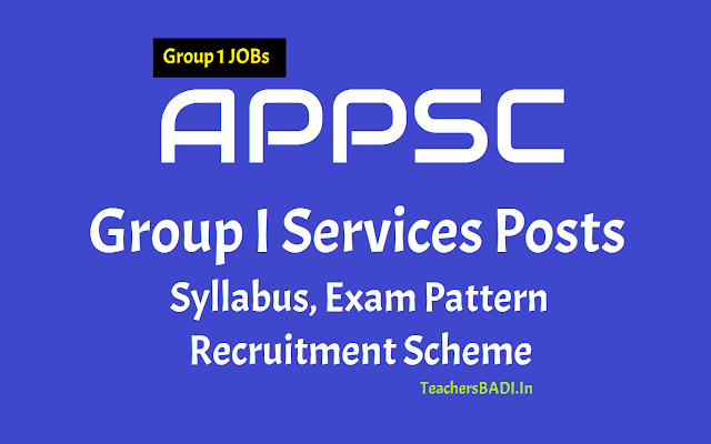 appsc group i services posts,selection process,scheme of selection,exam pattern,exam scheme,syllabus,direct recruitment,group-i exam papers,group i exam syllabus