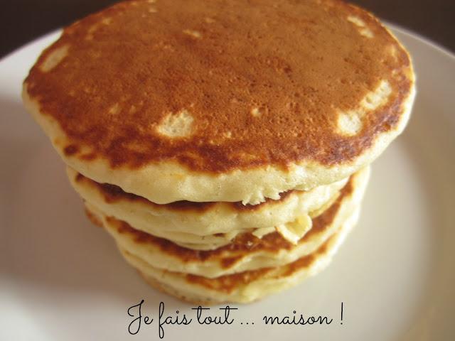 Pancakes faciles de Martha Stewart