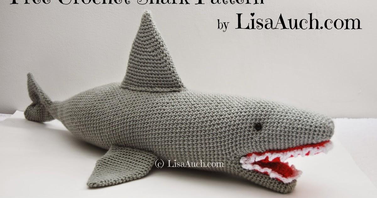 Free Crochet Shark Pattern Fergal Sharkey Free Crochet Patterns