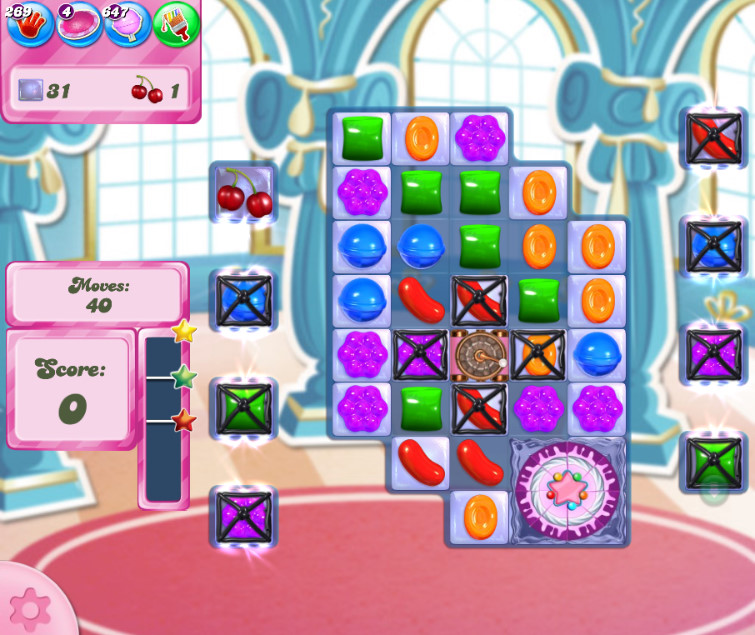 Candy Crush Saga level 2654