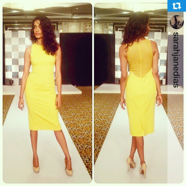 an epitome of sunshine, blooming sunflowers, mustard fields, summer citrus fruits and happiness; just a few of the many reasons attached to the gorgeousness of the colour yellow, making it a huge trend for spring summer 2015. 