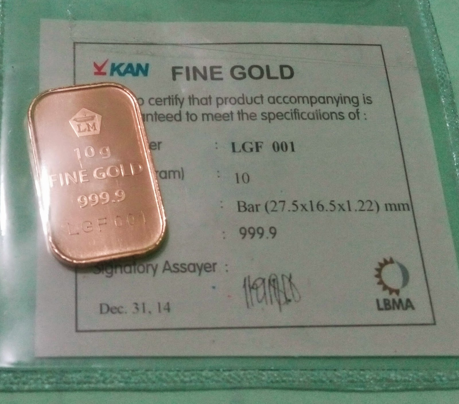 Pengalaman Membeli Emas Di Antam Pulogadung Ala Urang