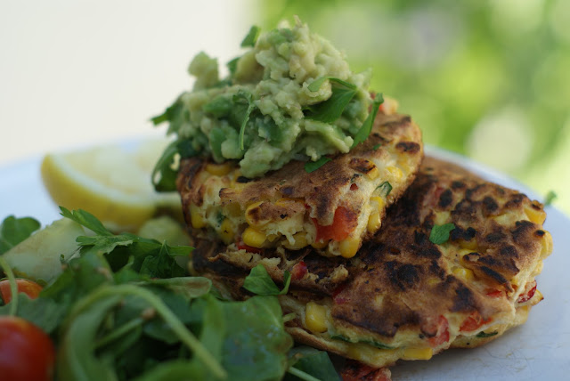 Healthy easy dinner: Sweet corn Fritters