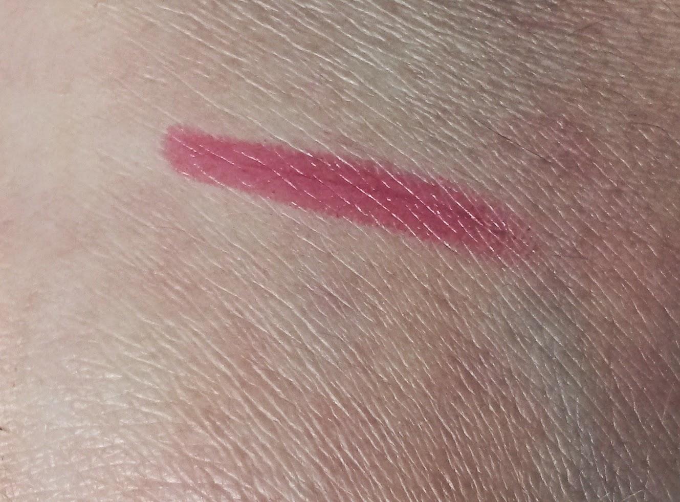 Swatch rouge à lèvres color boost bourjois
