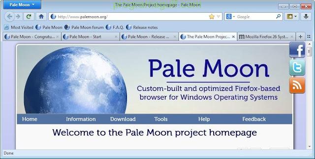 تنزيل متصفح بال مون للكمبيوتر برابط مباشر