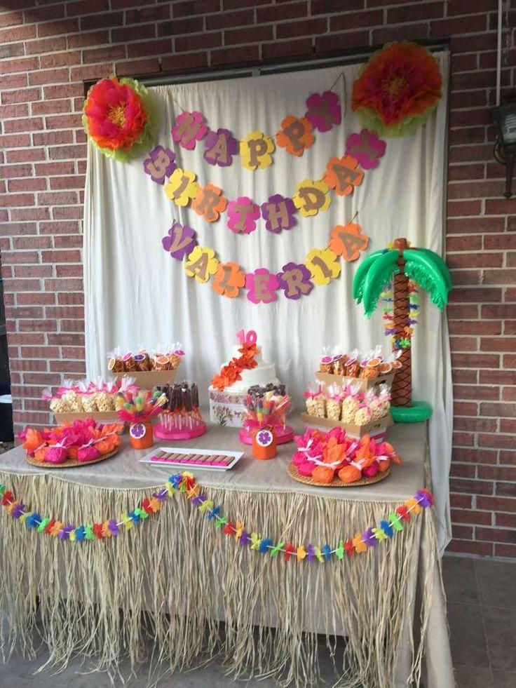 Ideias de decora o festa infantil moana simples dicas - Decoracion party ...
