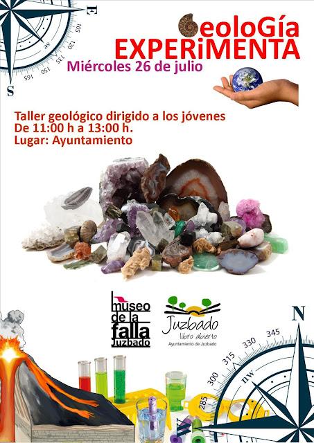 Museo de la Falla Juzbado geología laboratorio
