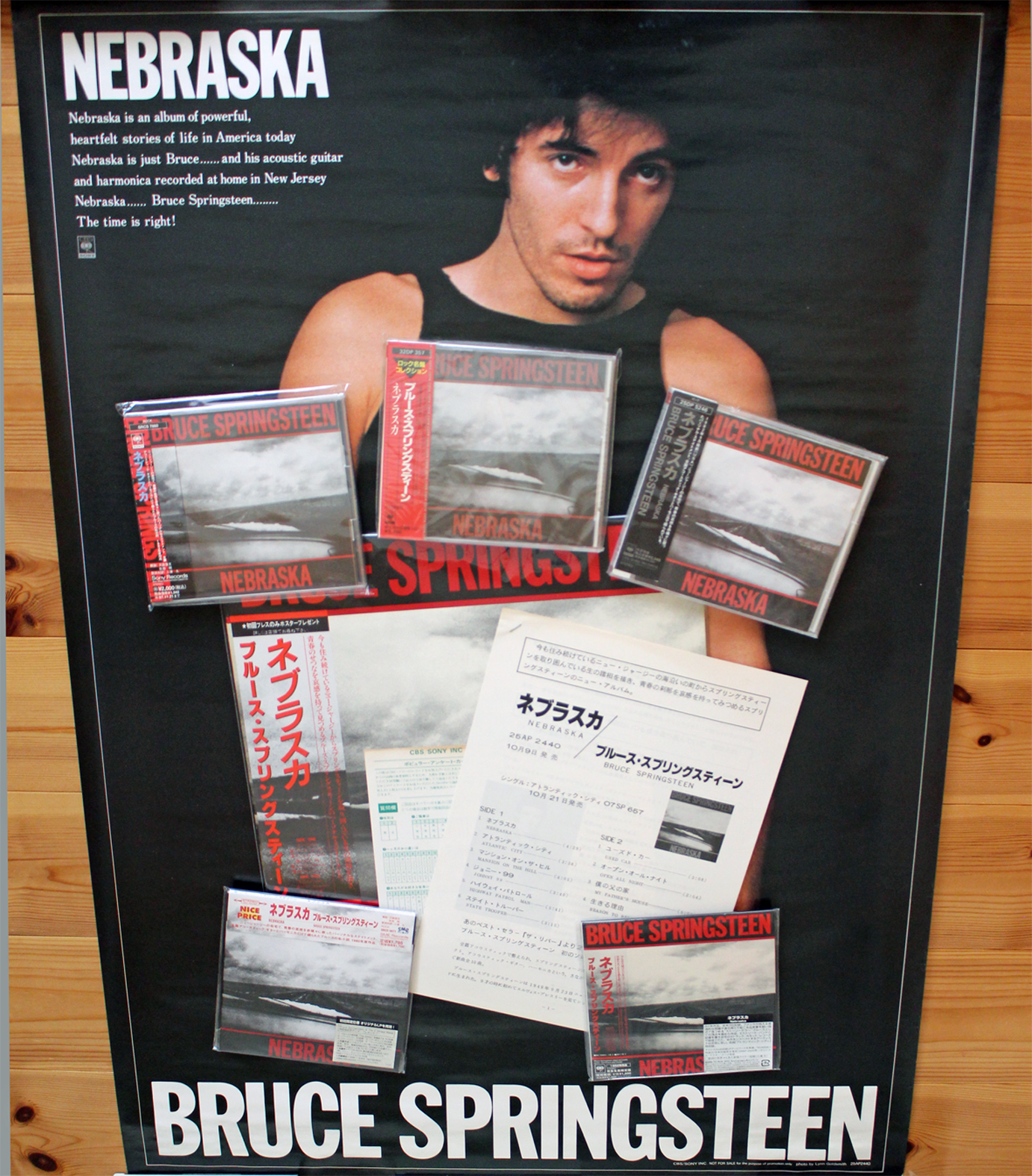Vinyl Hunting Amp Collecting A Bruce Springsteen Record