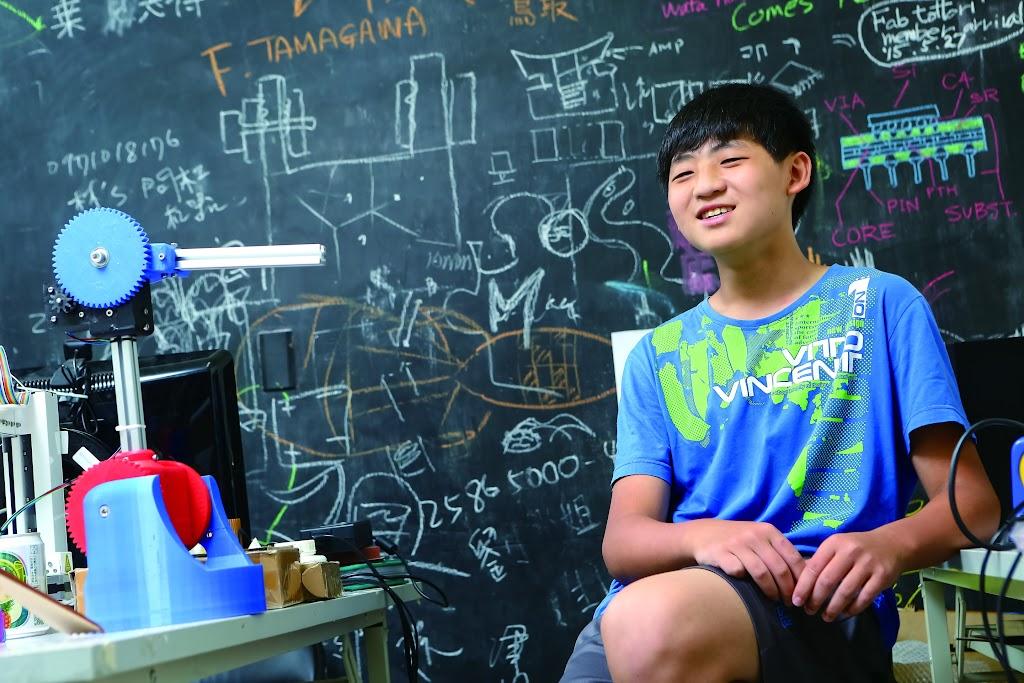 國中生玩3D列印玩到當顧問