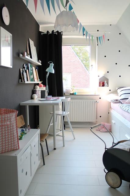 Decorar una habitacin de nia de estilo nrdico CON