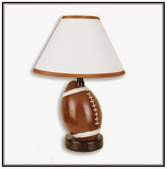 Football lamp for boys room