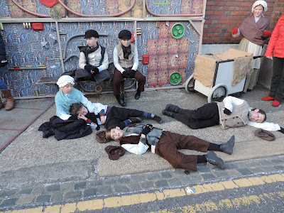 Portsmouth historic dockyard festival of christmas actors