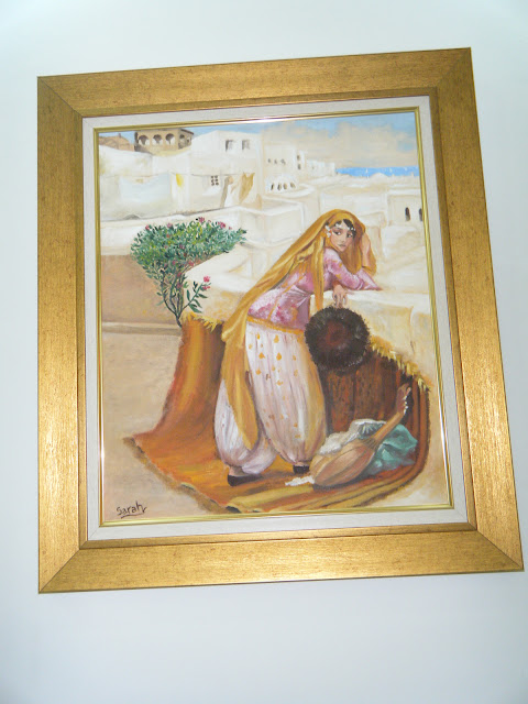 Les peintures de mes élèves à l'expo 23
