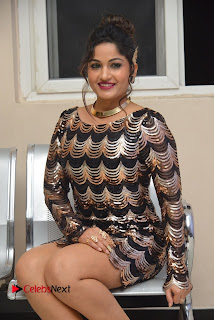 Actress Madhavi Latha Pictures in Short Dress at On Mona Birthday Premiere 0047