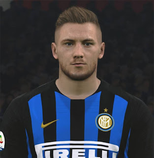 PES 2017 Faces Milan Škriniar by ABW_FaceEdit