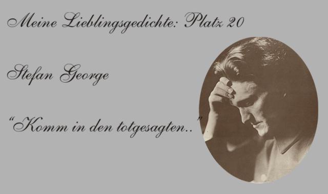 Stefan George -Bildausschnitt