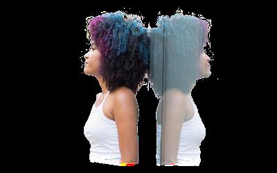 Porosidade Capilar Cabelos Crespos Descoloridos e Coloridos