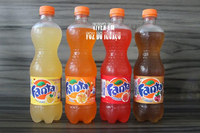 Quatro sabores de Fanta para você experimentar em Ciudad del Este, no Paraguai